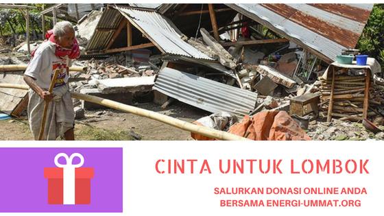 Lombok Berduka, Donasi Untuk Negri